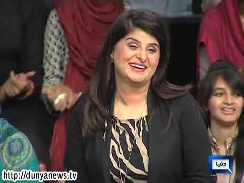 Dunya News -- Mazaaq Raat - Celebrity Interviews