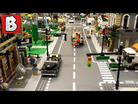 How To Build Traffic Lights For HUGE LEGO City! | Tutorial