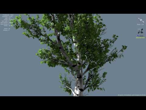 SpeedTree 5.2 wind effects