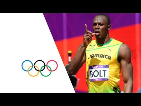Usain Bolt & Yohan Blake Win 100m Heats - London 2012 Olympics