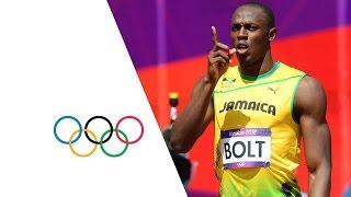 Usain Bolt & Yohan Blake Win 100m Heats - London 2012 Olympics