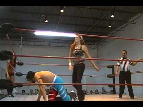 Romeo Razel Quevedo & Santana G vs. Isis the Amazon & Jessica Haze CCW BSU 2-6-10
