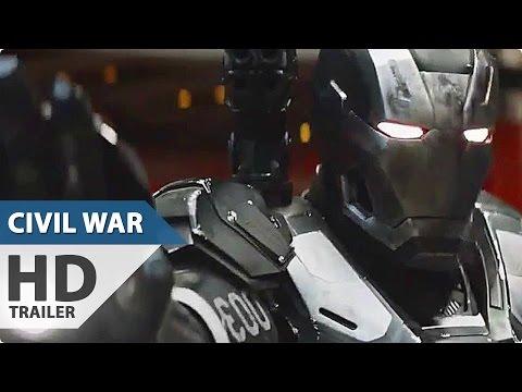 Captain America 3 Civil War NEW Trailer Spots 4 (2016) Marvel Superhero Movie HD
