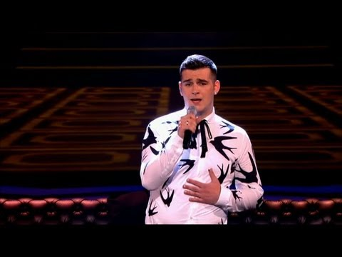 The Voice UK 2013 | Mike Ward performs 'Suspicious Minds' - The Live Final - BBC One