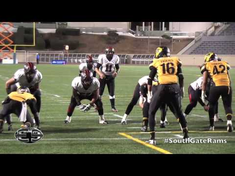 Lavell Thompson RB South Gate Rams Football Highlights  2013