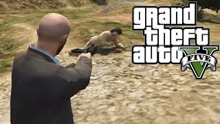 "GTA 5: No Country For Old Men! ""Easter Egg"""