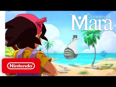 Summer in Mara - Announcement Trailer - Nintendo Switch