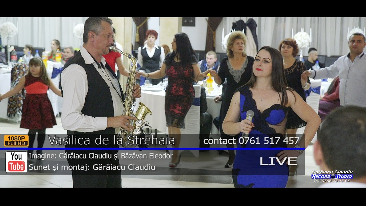 Vasilica de la Strehaia   LIVE 2017   Colaj HORA, Muzica de Joc si Voie Buna