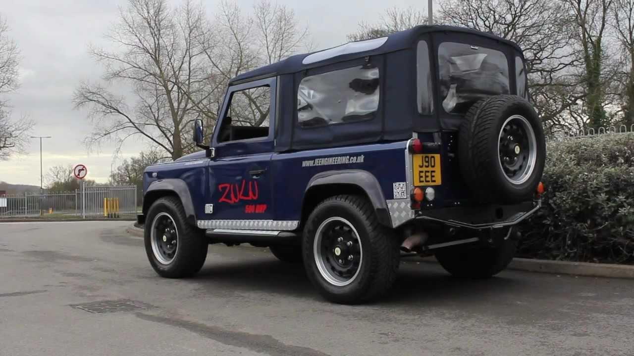 Insane 500bhp V8 Supercharged Land Rover Zulu Defender