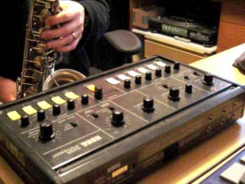 Lewis McCallum sax synthesizer korg x911