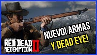 RED DEAD REDEMPTION 2: ARMAS Y DEAD EYE! INFO OFICIAL! 🔥RDR2 en español