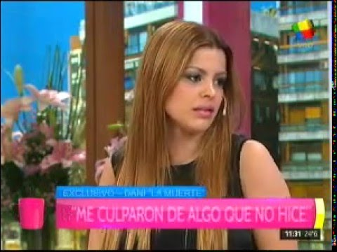 Fuerte relato de la ex mujer de Dani La Muerte: Me quiso matar