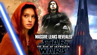 MASSIVE The Rise Of Skywalker Leaks Revealed! WARNING Star Wars Episode 9