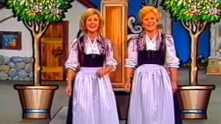 Maria und Margot Hellwig - Freut euch des Lebens -  Superhitparade der Volksmusik - 1983