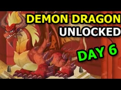 DUNGEON ISLAND Dragon City Demon Dragon Unlocked Final Quest DAY 6