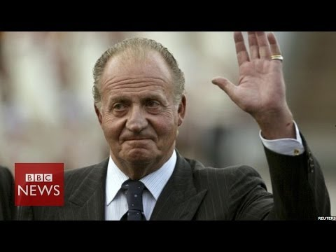 Why is King Juan Carlos of Spain abdicating? In 45 secs - BBC news