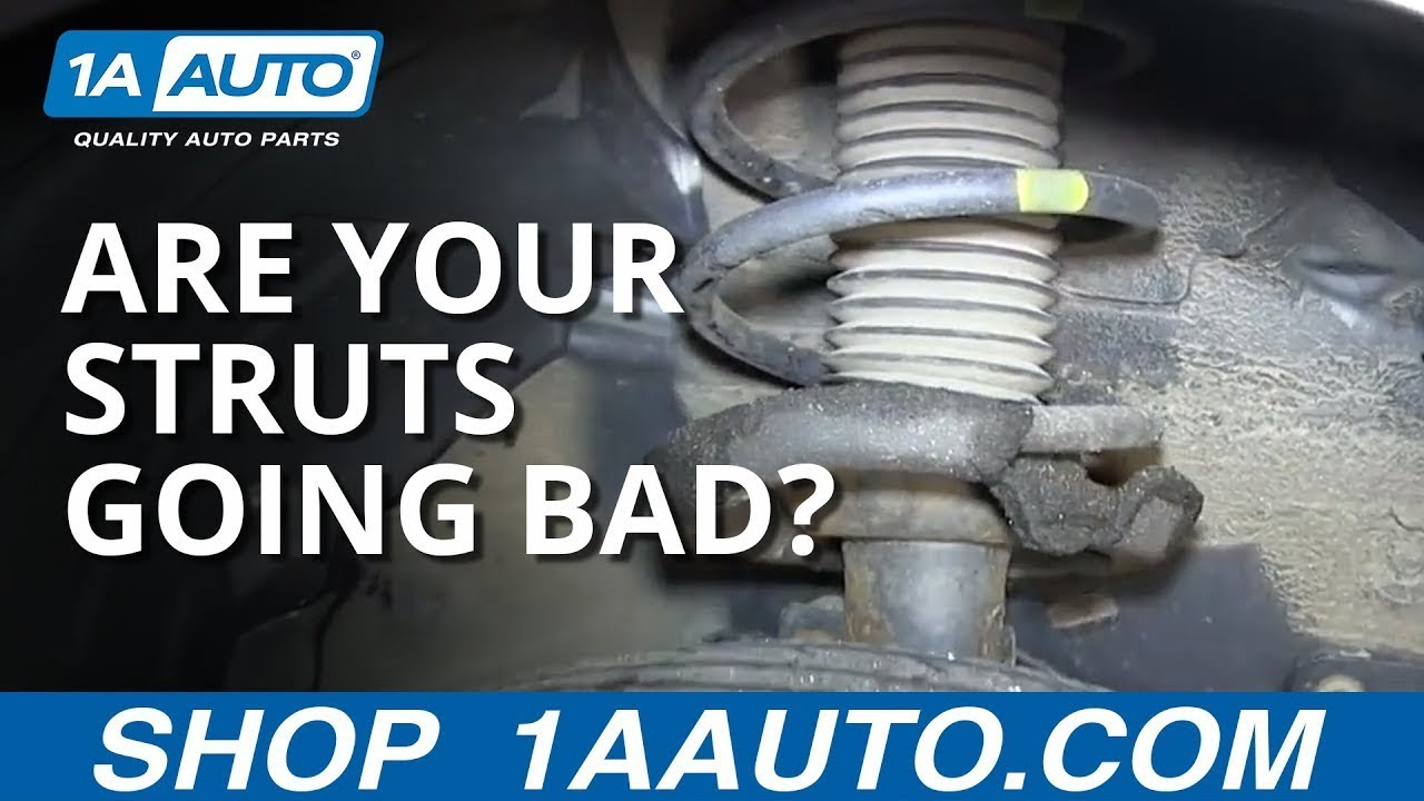 How To Tell If Your Struts Are Leaking Or Going Bad Youtube