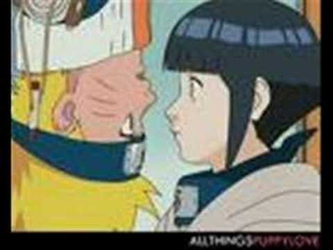 naruto and hinata kiss the girl