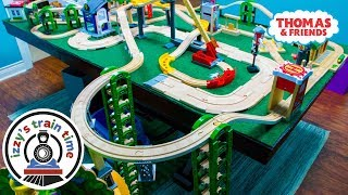 Thomas and Friends | TAKE TURNS CHALLENGE WITH THOMAS TRAIN | Fun Toy Trains for Kids with Brio