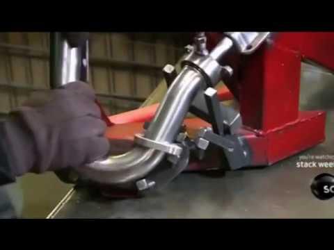 Begini Proses Pembuatan knalpot motor trail