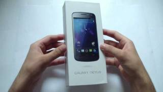 Galaxy Nexus Unboxing Arabic - فتح صندوق جهاز جوجل جالكسي نيكسوس