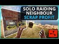 SOLO RAIDING My Neighbour For HUGE SCRAP PROFIT Rust Solo Survival Episode 4 mp3