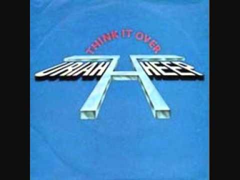uriah heep - think it over - single 1981