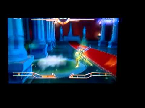 Aioria De Leo Vs Saga De Geminis (saint Seiya Sanctuary Version Latino) video