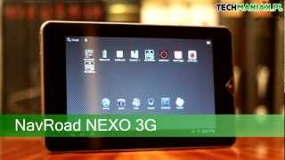 Wideo test i recenzja tabletu NavRoad NEXO 3G | techManiaK.pl