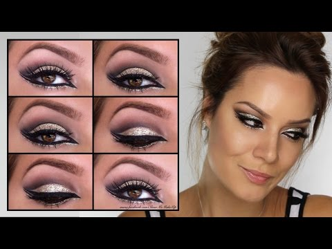 Arabian Gold Goddess Eye MakeUp Tutorial