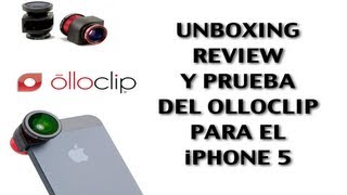 Olloclip, el mejor accesorio para la cámara del iPhone 5 & iPod Touch 5g | Unboxing y Review | HD