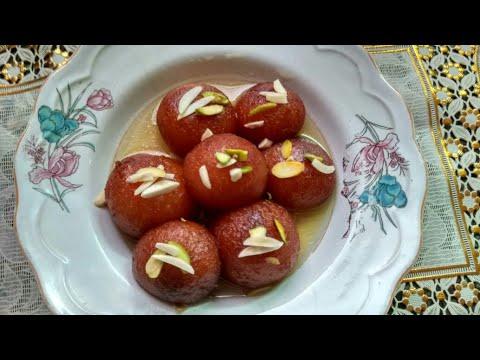Gulab Jamun Recipe | Gulab Jamun With Milk Powder | Easy And Delicious