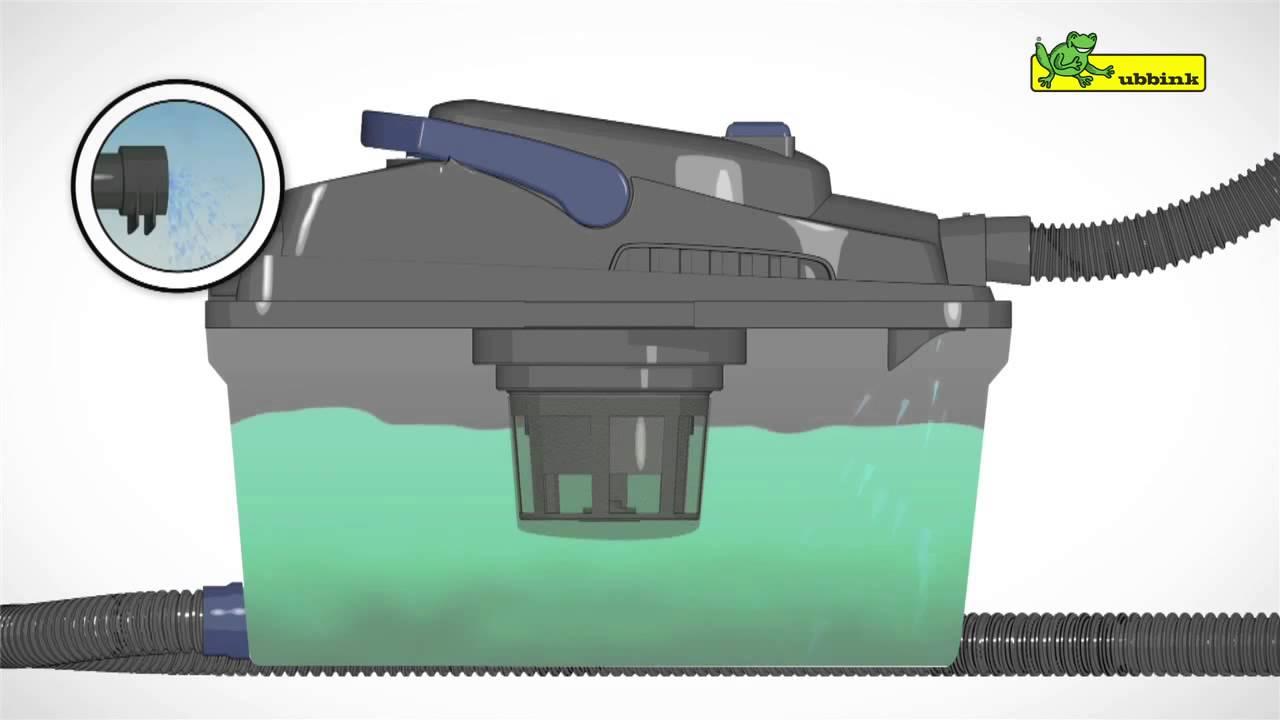 Pr sentation vacu pro cleaner aspirateur bassin de jardin for Aspirateur pour bassin