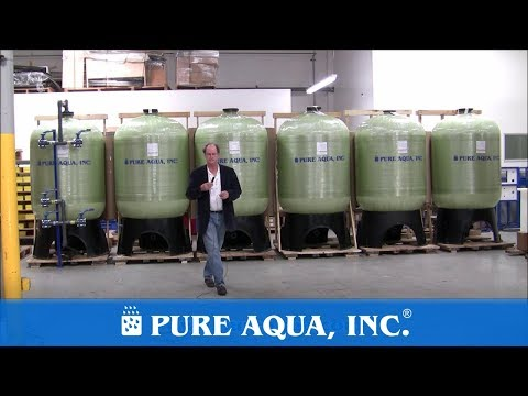Pure Aqua | Activated Carbon Filtration Equipment Saudi Arabia, 6 x 126 GPM Equipment