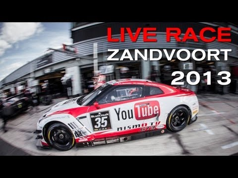 LIVE RACE (RECORDED) : FIA GT SERIES: Zandvoort - 7 JULY 2013 (PLEASE CHECK COUNTRY RESTRICTIONS)