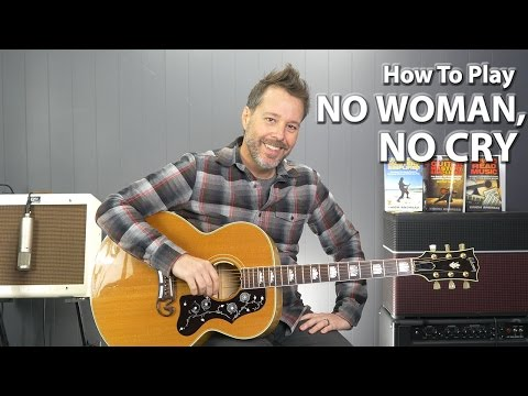 How to Play No Woman, No Cry Bob Marley - Guitar Lesson