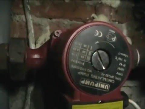 Видео как проверить работу насоса отопления