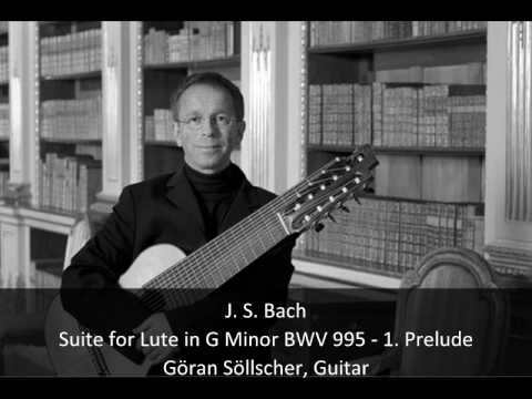 JS Bach - Suite for Lute in G Minor BWV 995 - 1. Prelude (1/6)
