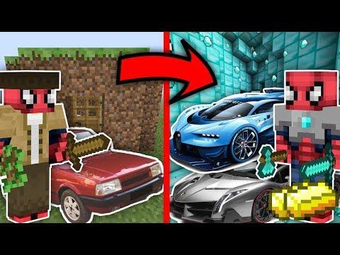 ÖRÜMCEK ADAM ZENGİN OLDU - Zengin VS Fakir Hayatı Minecraft