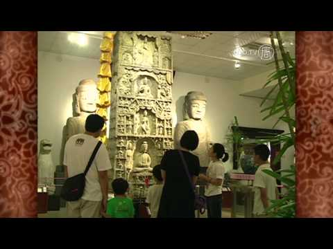 Ancient Buddha Statues Displayed in Taiwan