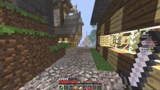 Hunger Games in Minecraft  #1 Затащил но слил ((