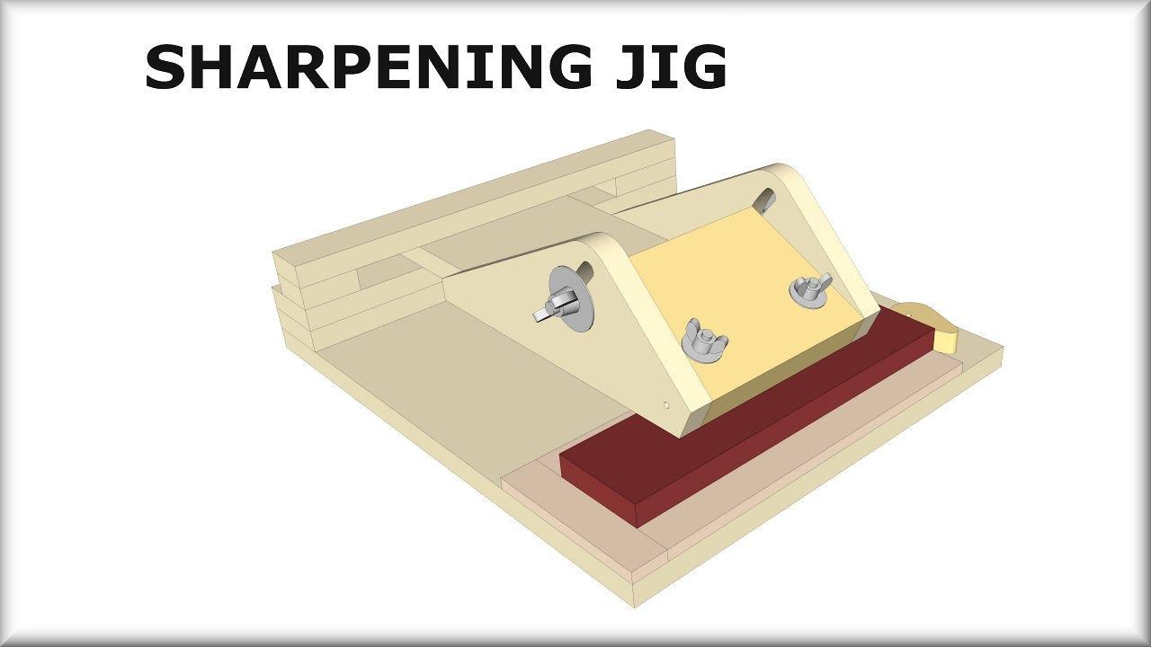 Sharpening Jig Plans Youtube
