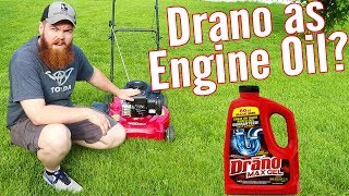 Can You Use Drano As Engine Oil?