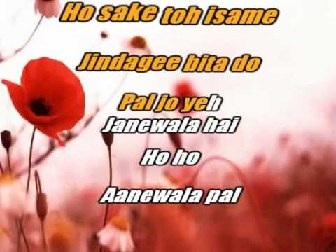 Aane wala pal - Kishore Kumar - Golmaal - Karoake Sample with...