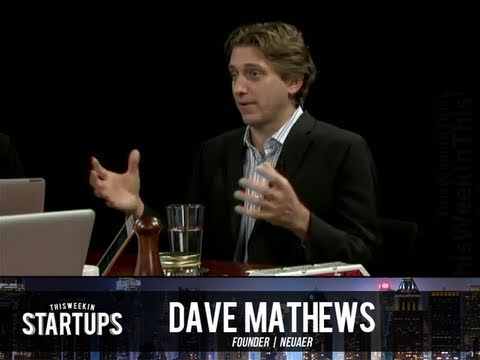 - Startups - Dave Mathews of NeuAer on TWiST #145