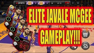 RARE ELITE JAVALE MCGEE CARD GAMEPLAY! HE