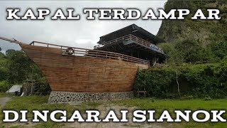 Kapal terdampar di ngarai sianok-jalan jalan wisata