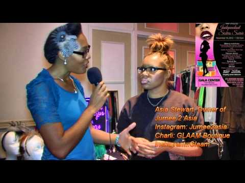 Interview with Asia Stewart at the Independent Sister Soiree Event