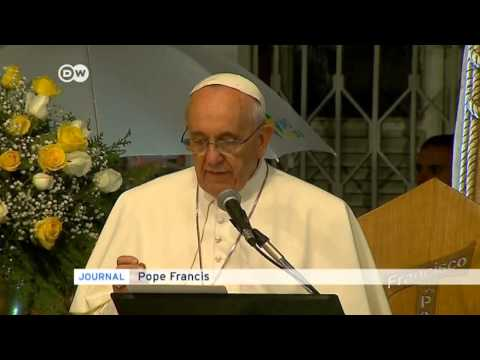 Pope condemns drug trade 'death merchants' | Journal