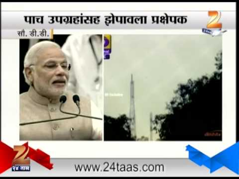 ZEE24TAS : PSLV-C23 launch a global endorsement of India's space capability: Narendra Modi